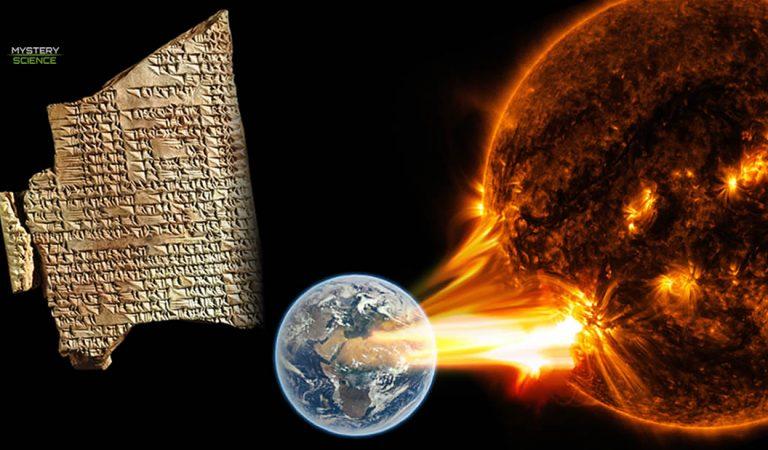 Tormenta solar ocurrida hace 2.700 años fue documentada en tablillas asirias