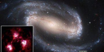 Descubren huellas de una galaxia «monstruosa» que nunca antes se había visto