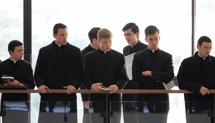 Sacerdotes que participaron en el entrenamiento para exorcistas