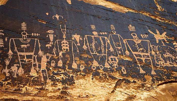 Arte rupestre de los Kachina