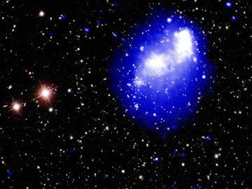 La colisión de 4 cúmulos de galaxias está formando «uno de los objetos más masivos del universo»