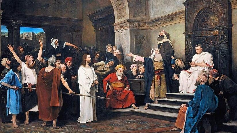 Poncio Pilato juzga a Jesús