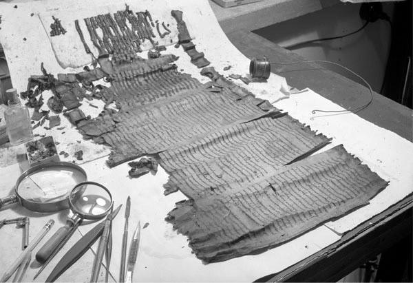 Manuscritos del Genesis apócrifo.