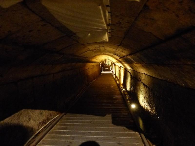Túnel de los Templarios en Acre, Israel