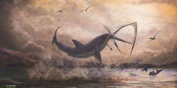 Descubren un tiburón prehistórico previamente desconocido que vivió hace 91 millones de años