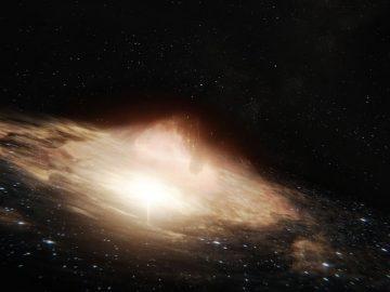 Detectan un misterioso agujero negro que ayuda a que nazcan estrellas