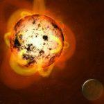 Descubren un planeta 'improbable' orbitando una estrella gigante roja