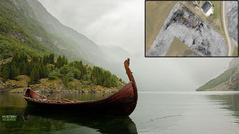 Encuentran un barco fúnebre vikingo de más de 1,000 años