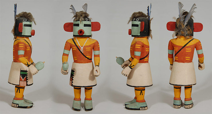 Estatua tradicional Kachina