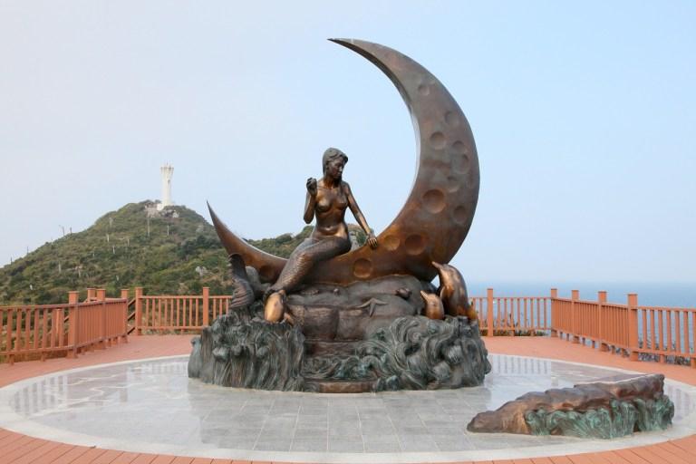 Estatua de la Sirena Sinjiki