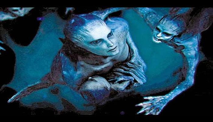 Sirenas hibridación extraterrestre