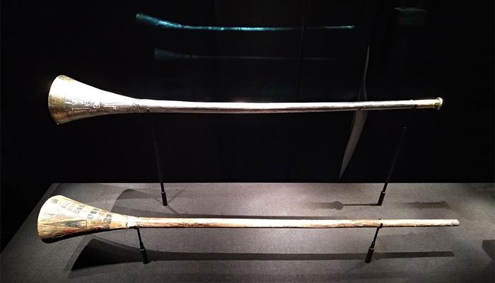 Trompetas de Tutankamón