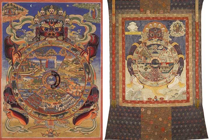 La rueda del Samsara