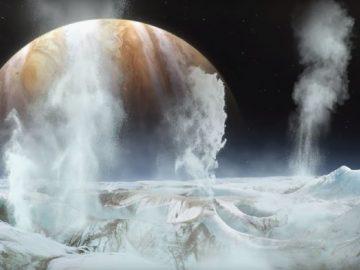 Detectan vapor de agua en Europa, una de las lunas de Júpiter