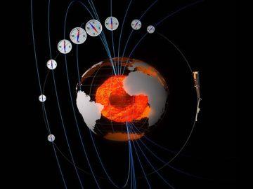 El norte magnético de la Tierra se mueve a una velocidad sin precedentes hacia Rusia