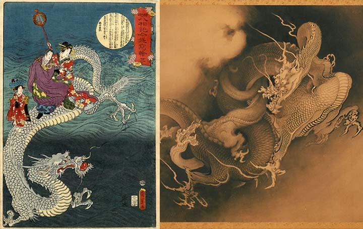 Dragones en la Antigüedad