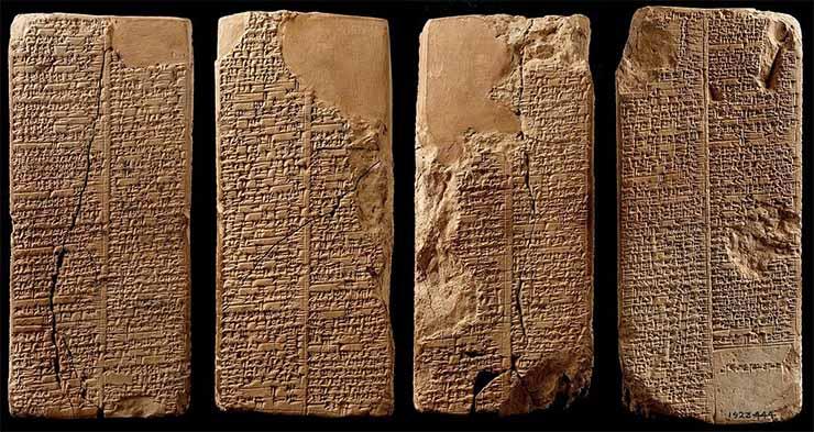 Lista de Reyes Sumerios