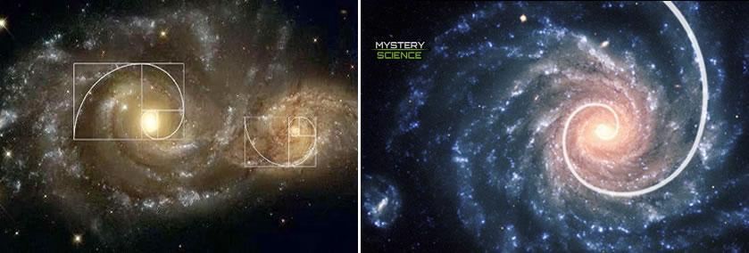 La conexión de la proporción áurea con el Universo