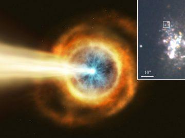 Detectan una fuente ultraluminosa de rayos X que proviene de la constelación Draco