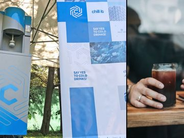 Jóvenes argentinos crean una máquina que enfría bebidas en solo 30 segundos
