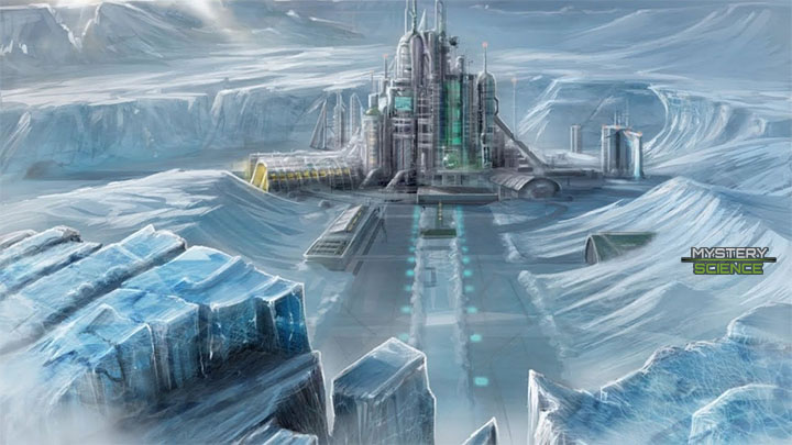 Antigua Ciudad en la Antártida
