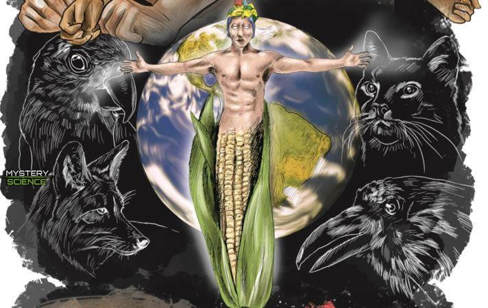 Hombre creado del maíz Mayas