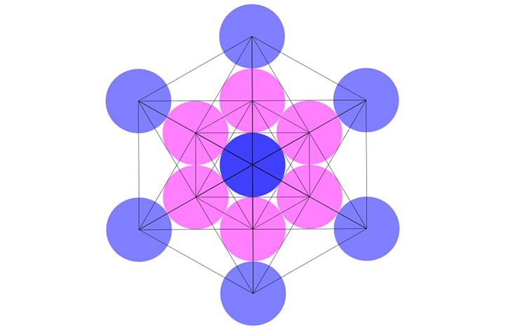 Cubo de Metatrón y los 5 sólidos platónicos