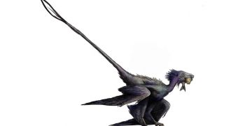Descubren especie antes desconocida de dinosaurio alado muy similar a un dragón
