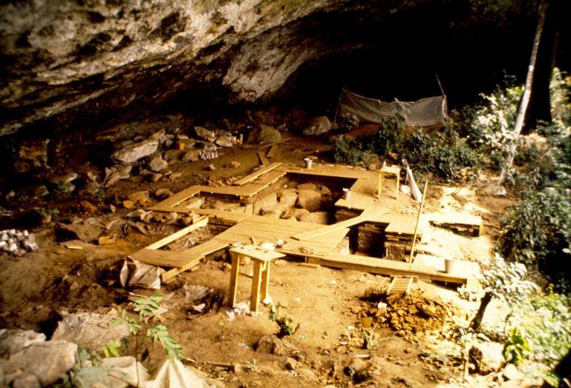 Excavación en Shum Laka