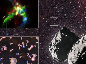 Descubren origen intelestelar del fósforo