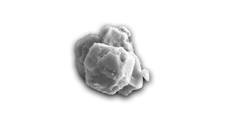 Grano presolar extraído del meteorito