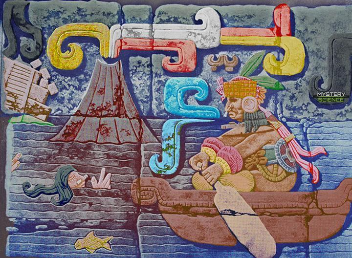 Diluvio según los mayas