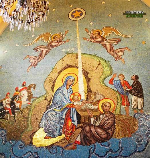 Nacimiento de Jesús reyes magos