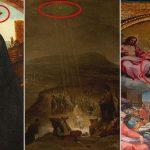 Pinturas antiguas con imágenes de OVNI