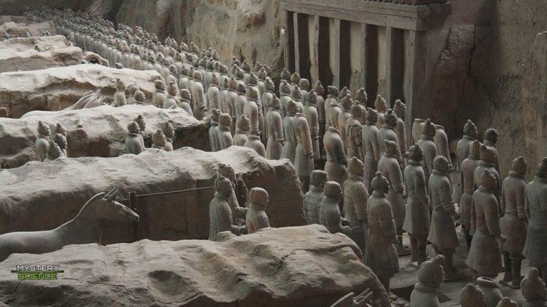 Encuentran cientos de nuevos guerreros de terracota