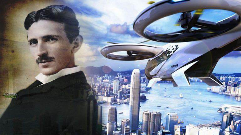 Los aviones futuristas de Tesla