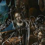 Revelan dibujos ocultos en una obra de Leonardo Da Vinci