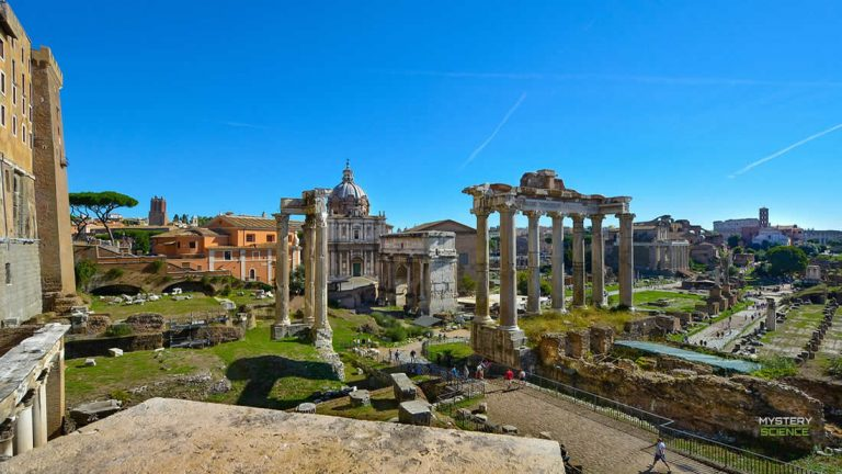Hallan un sarcófago que podría ser la tumba de Rómulo, fundador de Roma