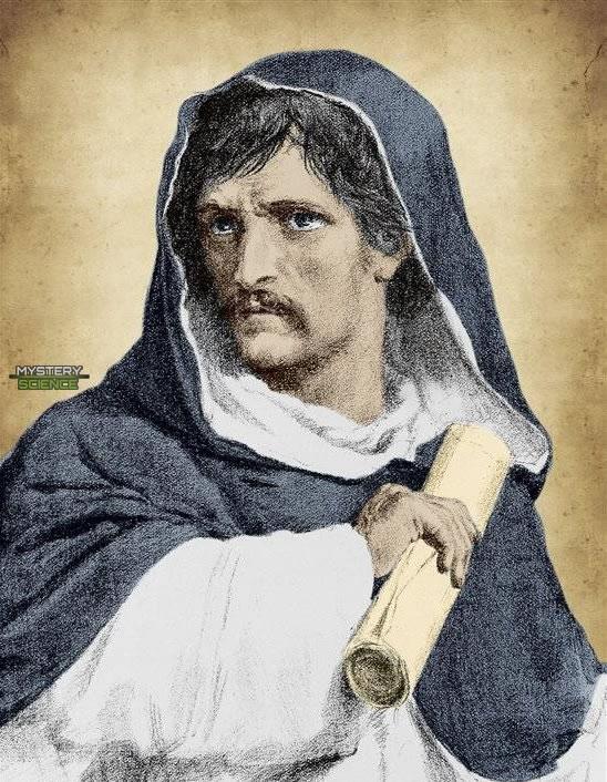 Retrato de Giordano Bruno