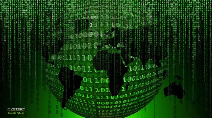 Tierra configurada en un programa Matrix