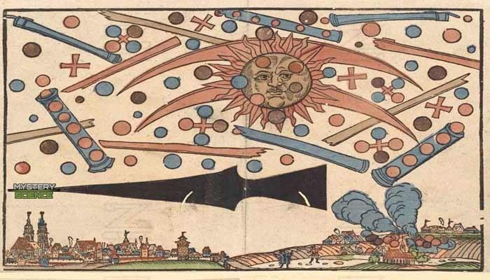 Ilustración sobre la batalla de Núremberg