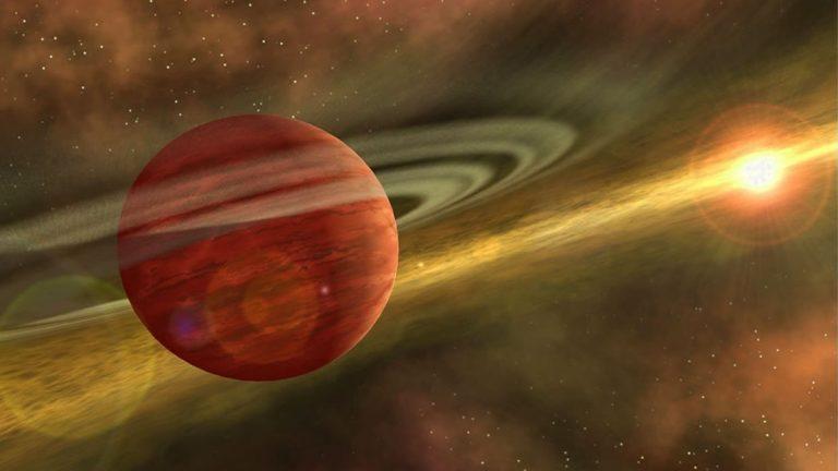 Científicos descubren un planeta cercano a la Tierra con 10 veces la masa de Júpiter