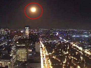 Meteorito cae en México e ilumina el cielo con una gran explosión
