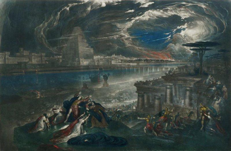 Torre de Babel caída