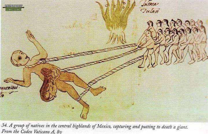 Quinametzin capturado por los aztecas