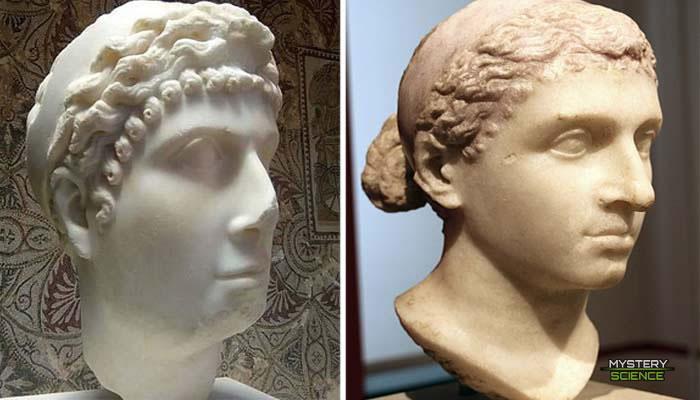 Verdadero rostro de Cleopatra