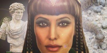 Cleopatra una reina con belleza, inteligencia y poder de seducción