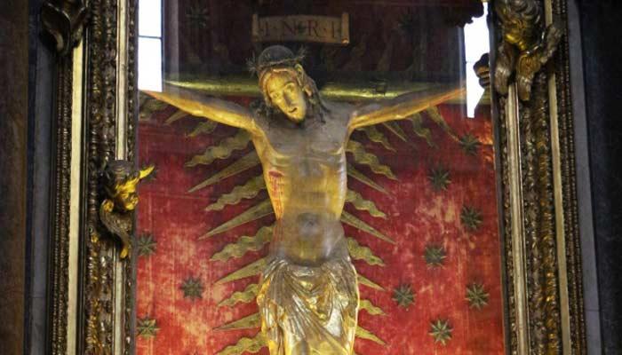 Crucifijo de la Iglesia de San Marcello