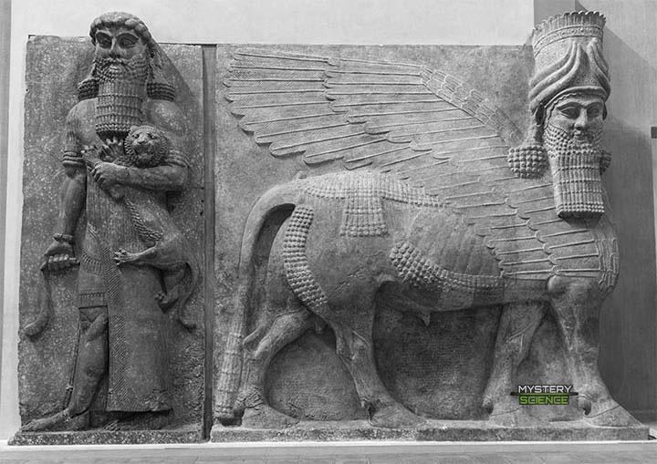 Gilgamesh y Lamassu