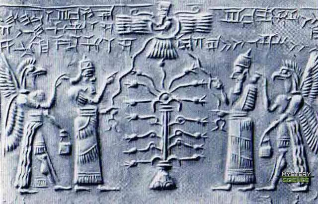 Los Anunnaki y el Árbol de la Vida